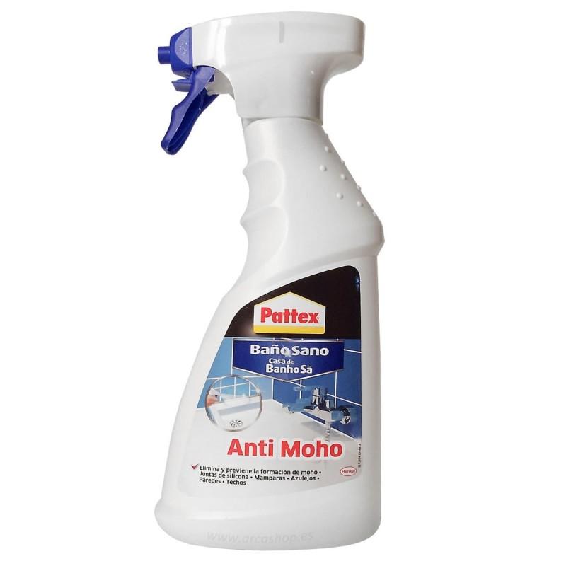 Limpiardor ba o sano antimoho pattex eliminar manchas de - Quitar moho juntas bano ...