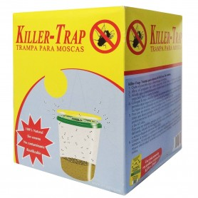 Killer-Trap. Cubo-Trampa Atrapa Moscas