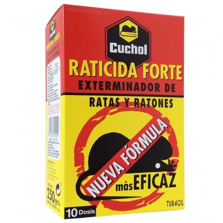 Raticida Forte Cuchol Plus. Ratas y ratones