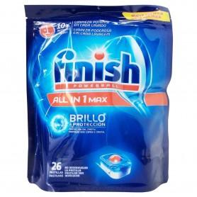 Detergente Lavavajillas Máquina Finish Pastillas