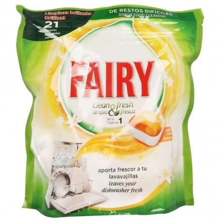 Fairy Detergente Lavavajillas Clean & Fresh