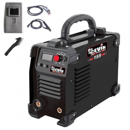 Grupo Soldadura Inverter Cevik Pro 155. Soldadura con electrodos.