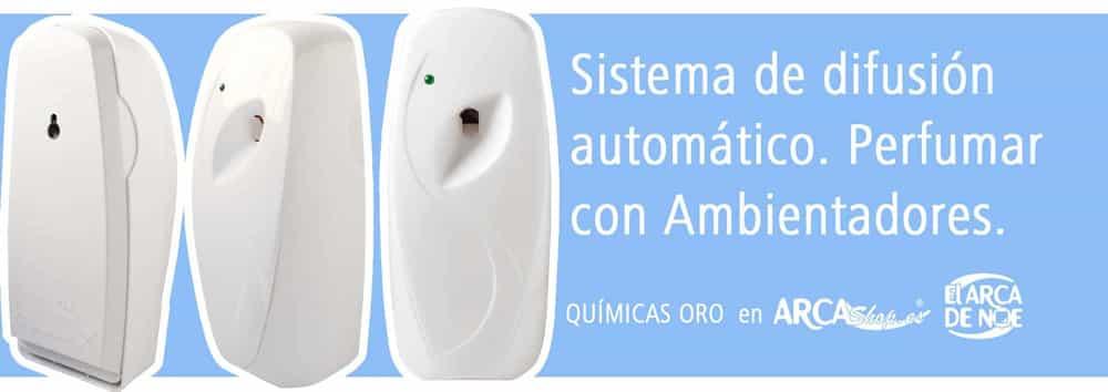 Aparato eléctrico Difusor automático para recambio ambientadores spray con boquilla delgada.