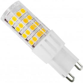 Bombilla Cerámica G9 Led 240V 360° para iluminación en campanas de cocina, lámparas decorativas.