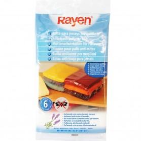 Bolsa Guardarropas 82x40x13 cm para jerseys Rayen, están perfumadas con aroma a lavanda, ahuyenta las polillas.