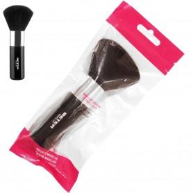 Brocha de maquillaje XL efecto natural y ligero Beter. Brocha maquillaje con mango de 2,5 cm y pincel de diámetro de 4 a 5 cm.