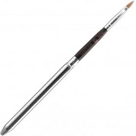 Pincel Cosmética Labios Pollié (Pincel Profesional Labios Ref. 02890) con fibras finas para mayor precisión.