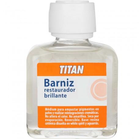 Barniz Medium Restaurador Titan Ars, para empastar pigmentos en polvo para realizar restauraciones y reintegraciones cromáticas