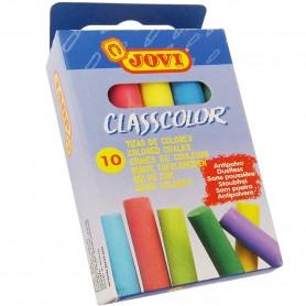 Tizas Colores Pizarra Uso Escolar ColorClassic Jovi