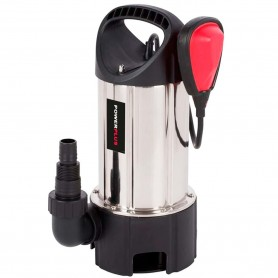 Bomba Sumergible 900W Inox PowerPlus, bomba extractora de agua para pozos, albercas, piscinas o zonas inundadas.