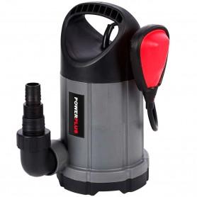 Bomba Sumergible 250W PowerPlus, bomba extractora de agua limpia piscinas y pozos.