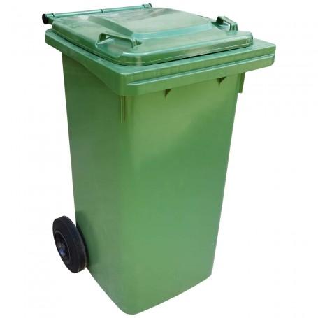 Contenedor de Basura con Ruedas 120 Litros (contenedor basura para bolsas de basura de comunidad)