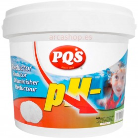 Reductor de PH Agua Piscinas PQS