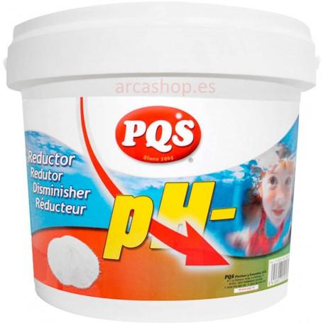 Reductor de PH Agua Piscinas PQS
