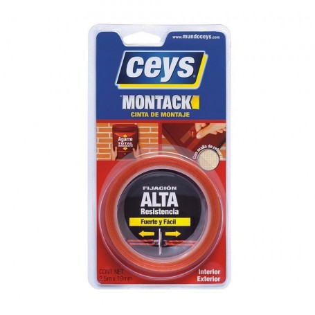 Cinta de Montaje Doble Cara Ceys Montack