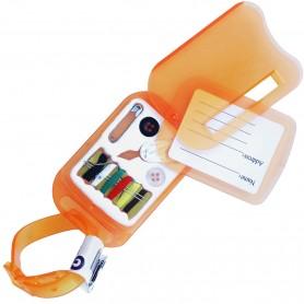 Etiqueta de equipaje para maletas de viaje con Kit Costura Auxiliar