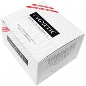 CYGNETIC  Crema Decolorante Vello Facial y Corporal (Decolorante vello tipo Andina).