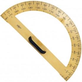 Regla Semicircular Grados Faibo (Transportador de ángulos 180º)