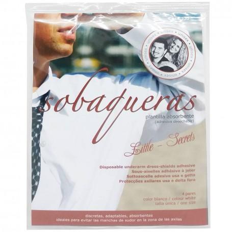 Sobaqueras Desechables para Hombre y Mujer, sobaquera anti sudor desechables para axilas y protege la ropa.