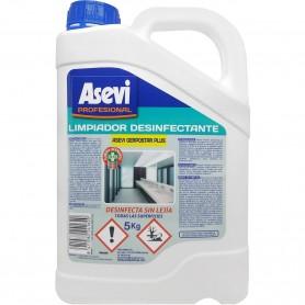 Limpiador Desinfectante sin lejía 5 Litros Asevi Gerpostar Plus