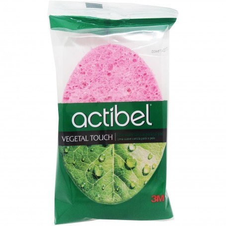 Esponja Vegetal Touch Baño Ducha Actibel 3M