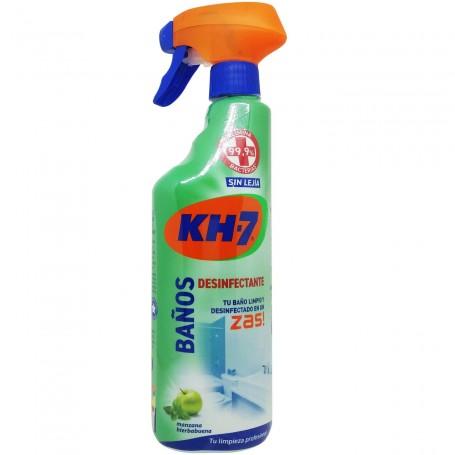 Zas Baños Desinfectante Limpiador Kh-7