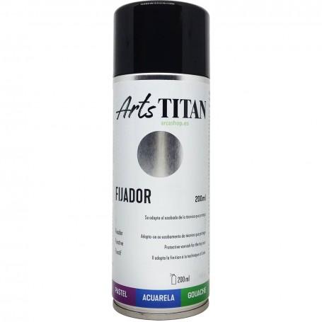 Spray Fijador protector para técnicas artísticas de BBAA sobre papel como acuarela, carboncillo, gouache o  pastel.