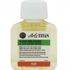 Medium Óleo Secado Rápido Titan Arts: Acelera el secado del óleo. ¿cómo pintar al óleo?