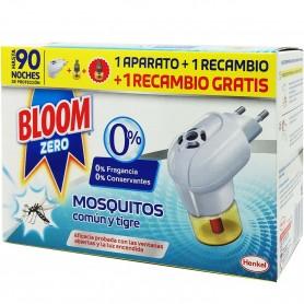 Difusor eléctrico Líquido Antimosquitos y Recambio. Mosquito tigre y mosquito común.