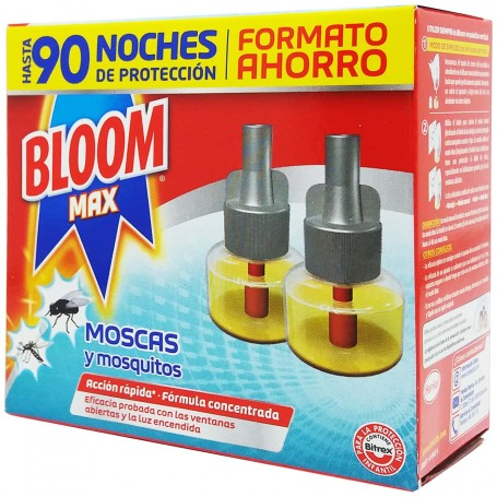 Bloom Max mosquitos tigre, mosquito común y Moscas