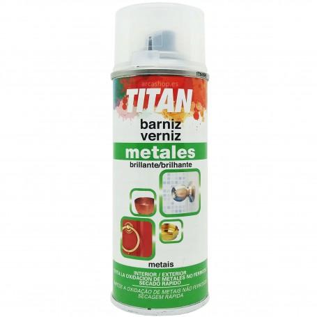 Barniz Brillante Spray Metales Titan de Titanlux