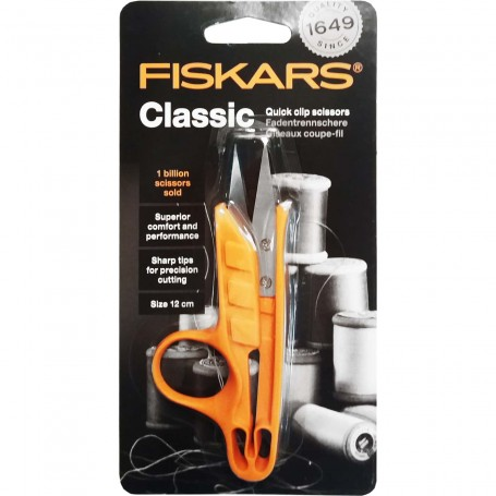 Tijera Corta hilos Fiskars, para trabajos de bordado y manualidades para descoser y cortar hilos.