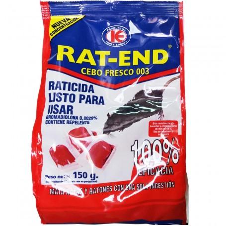 Cebo Fresco Veneno para Ratones y Ratas. RAT-END, IMPEX EUROPA