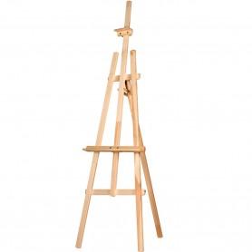 Caballete de Pintura barato para niños y adultos aficionados al pintura al óleo, caballete para estudios y talleres de pintura.