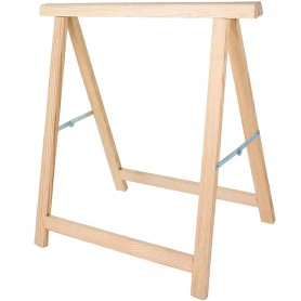 Caballete Madera para montar mesas