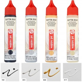 Gutta Silk Enmascarador para pintar Seda Talens Art Creation