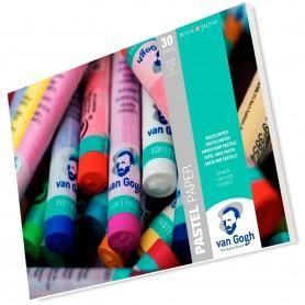 Bloc Papel para Pastel. Bloc Van Gogh Talens 30 hojas 160 grs/m². El mejor papel para pastel BBAA.