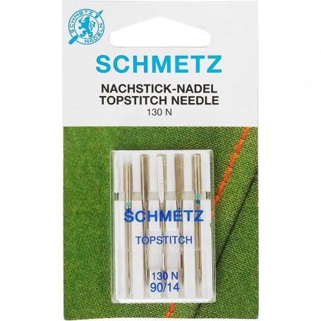 Agujas Máquina de Coser Schemtz (Nachstick Nadel Topstitch Needle)