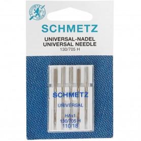 Agujas Schmetz Universal Nadel 130/705 H para Máquina de Coser