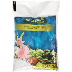 Abono Granulo Complejo Azul NPK (S) 12-6-12 (12) Plantas y Jardín Naturplant