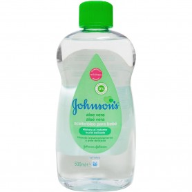 Aloe Vera Aceite Johnson's Baby Hidratante 500 ml