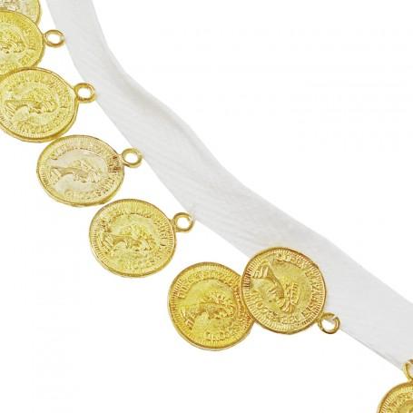 Cinta con Monedas para prendas y complementos
