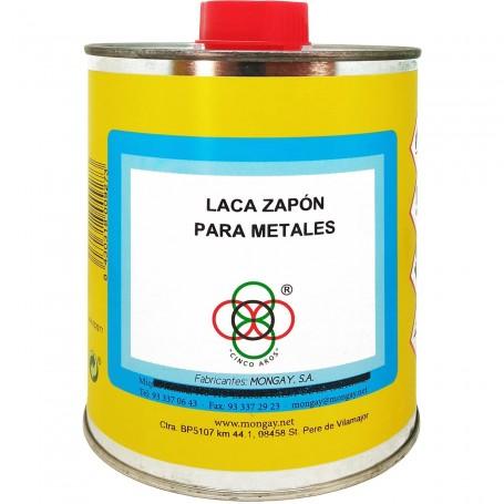 Laca Zapón, barniz laca para metales, Mongay