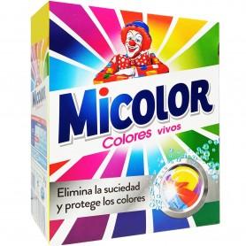 Micolor, Detergente en Polvo Lavadora, ropa color.