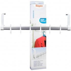 Colgador para puertas de 6 perchas, Rayen