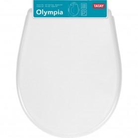 Tapa WC Universal Olympia Tatay Blanca