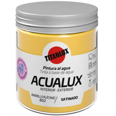 ACUALUX, pintura Satinada TITANLUX Colores