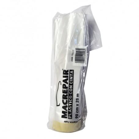 Plástico con Cinta de papel Miarco. Macrepair