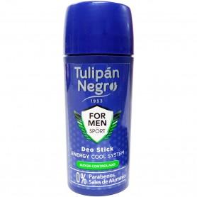 Desodorante para hombre, Tulipán Negro, Energy Cool System, 75 ml.