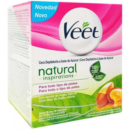 Cera Depilatoria Veet Natural Inspirations Corporal